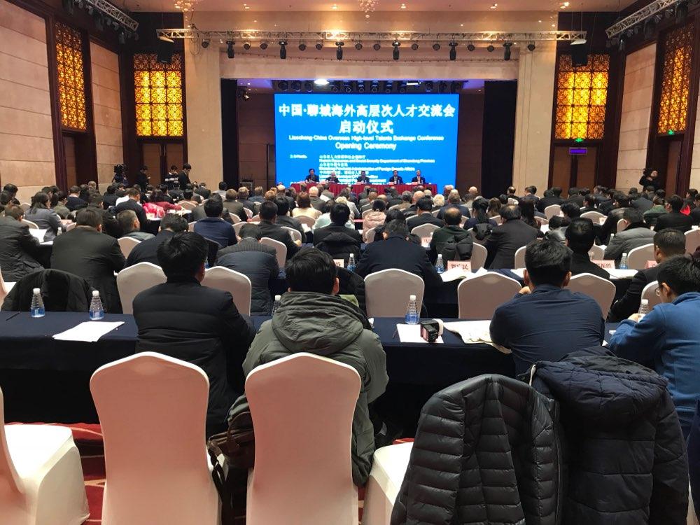 2018中国·聊城海外高层次人才交流会举行 达成80多项合作