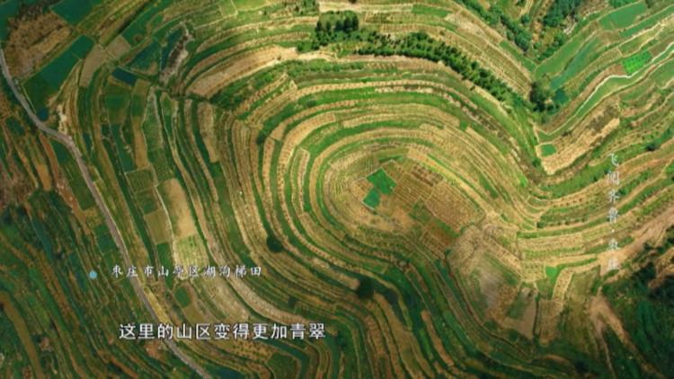 空中看改革开放枣庄印记 青山葱翠斑斓如画丨《飞阅齐鲁》