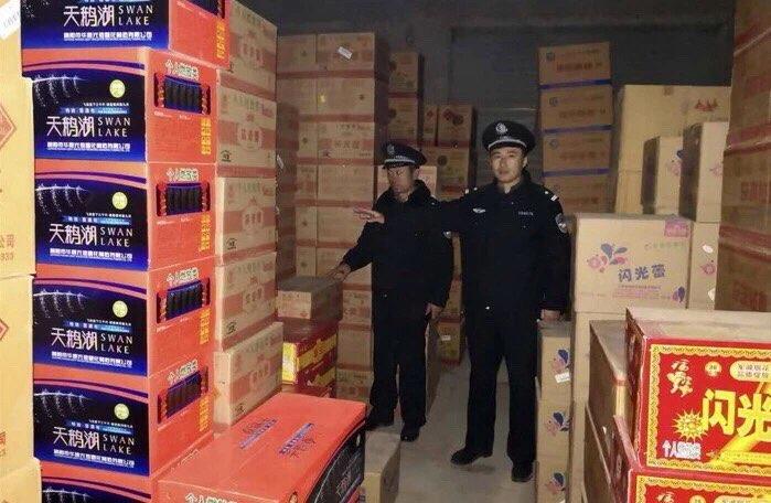 菏泽警方查处一起非法储存烟花爆竹案件
