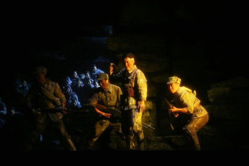 大型民族歌剧《沂蒙山》在省会大剧院震撼开演