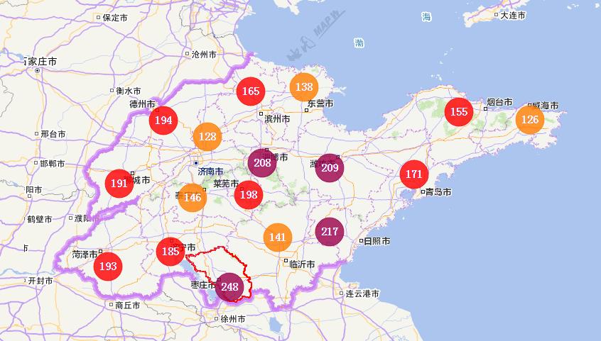 海丽气象吧丨今日冬至吃饺子 山东与雾霾同享