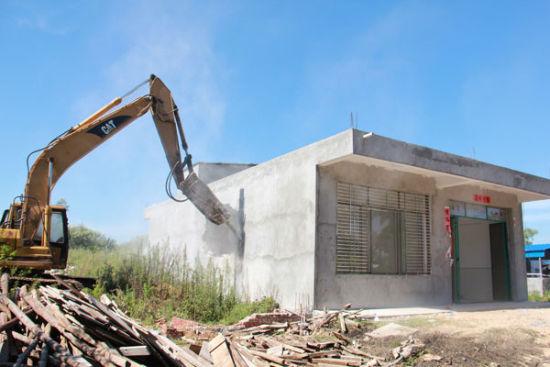 村民擅自占用村集体土地建厂 冠县法院成功拆除19年非法建筑