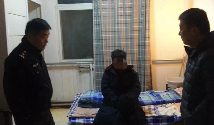 阳谷警方解救一名被拐卖妇女 认识她的请于警方联系