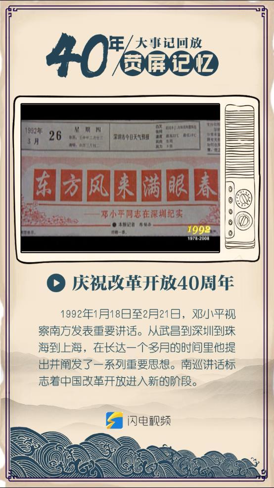 """40年·荧屏记忆丨""""东方风来满眼春""""刷屏各大报纸头版 引发又一次思想解放"""