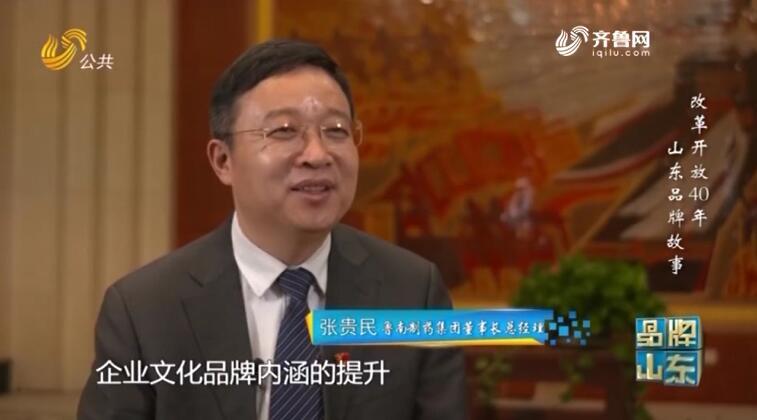品牌馨对话|鲁南制药董事长张贵民:从民族品牌走向国际品牌