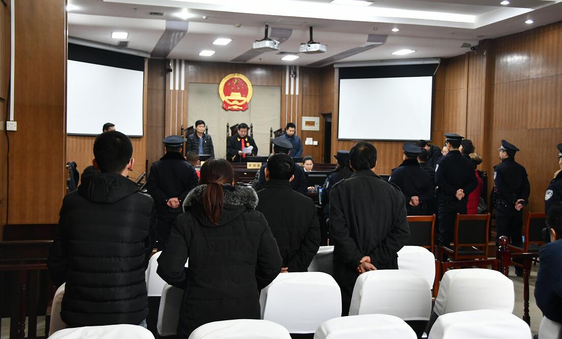 东营法院集中公开宣判三起恶势力犯罪案件