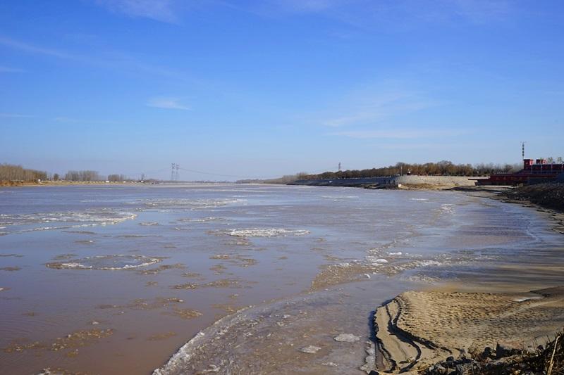 黄河山东河段出现本年度首次淌凌 长度182.5公里