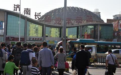 济南长途汽车总站迎元旦出行高峰 热点线路集中在中短途