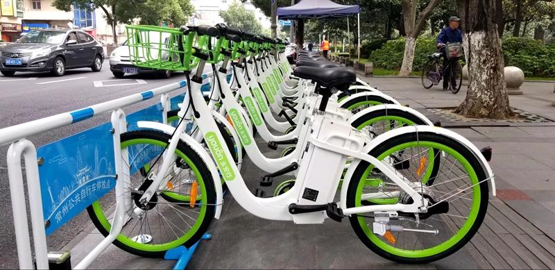 好消息!聊城引进共享助力车 1月15日上线设500个站点