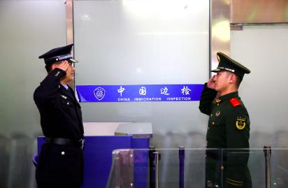 换新装!济南出入境边检站统一更换人民警察制服