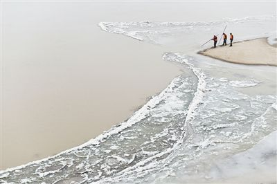 山东黄河出现本年度首次封河 较学年偏晚2天