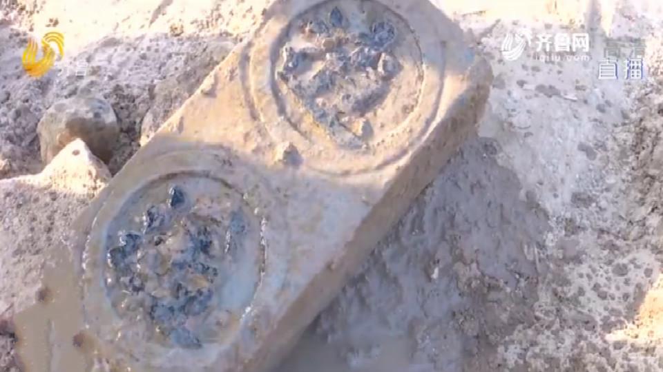 济南章丘一村庄拆迁发现三处古墓 专家初步判断:年代较晚
