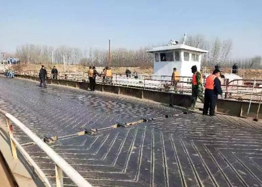 邹平市台子镇至大年陈镇浮桥恢复通车
