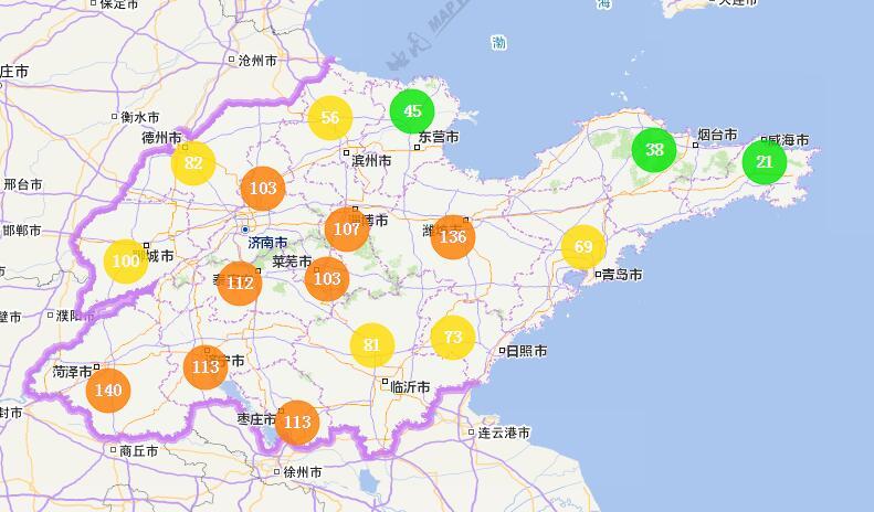 海丽气象吧丨山东:今天气温回升 下周三多地有雨雪