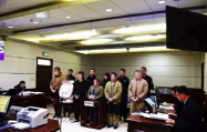 录制裸聊视频敲诈钱财 寿光这6人被依法公审