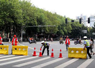 1月14日起,泰安徂徕路长城机电北路路口限时禁止机动车驶入