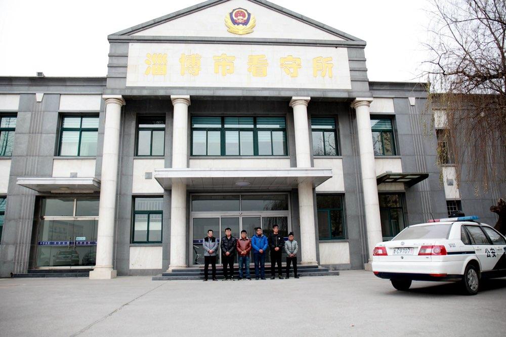 """淄博交警""""冬雷行动""""剑指违法 一天内六名嫌疑人被刑拘"""