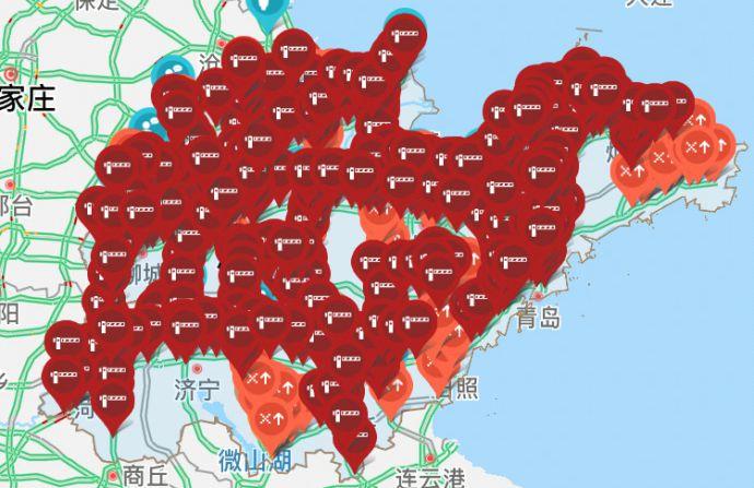 海丽气象吧|山东今晨大雾 京台高速、济广高速等多个收费站暂时封闭