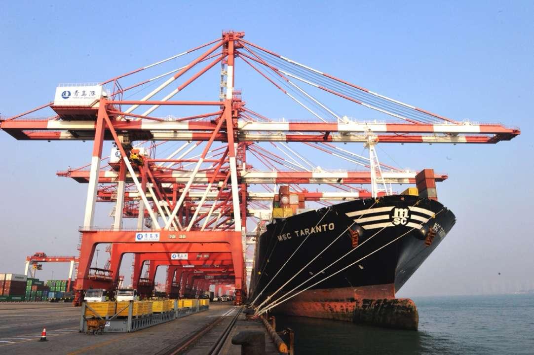 青岛2018年外贸进出口总值超5千亿 民企跨境电商快速发展