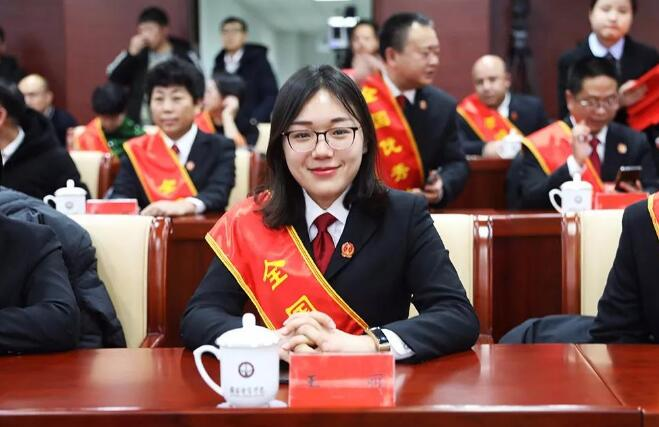 """喜讯!临沂兰山法院法官王丽被评为""""全国优秀法官"""""""
