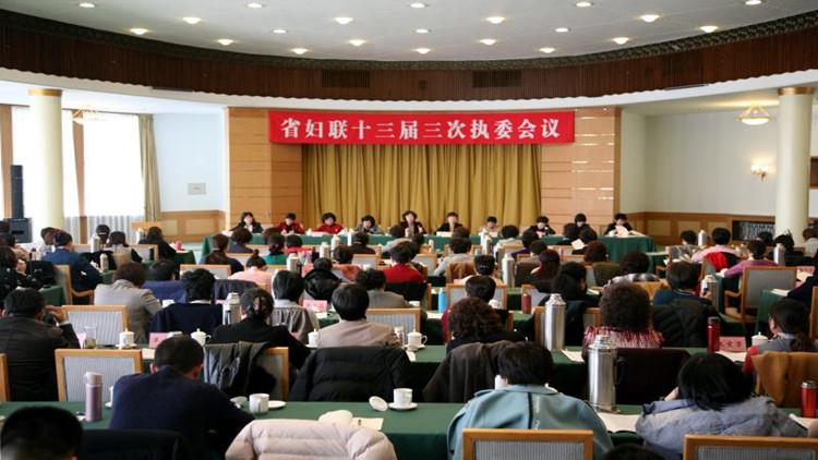 山东省妇联十三届三次执委会议在济南召开