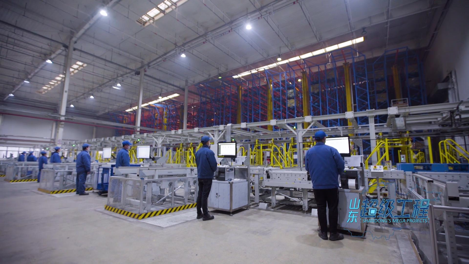 山东超级工程 | 潍柴智能物流工程 开启制造业现代化物流应用新时代