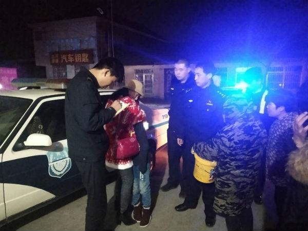 11岁女孩与母亲怄气出走 岚山警方125分钟帮其找回