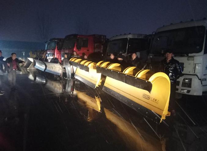 海丽气象吧 枣庄今夜将迎大雪 市中区七辆铲雪车10吨融雪剂待命