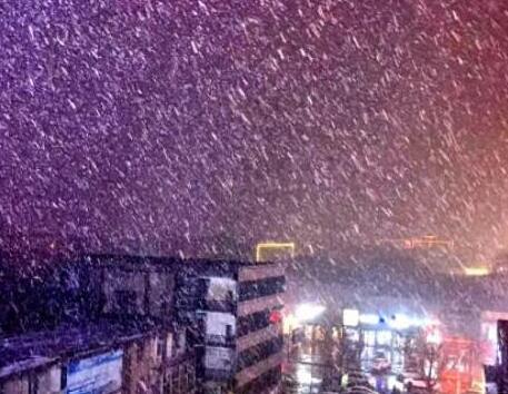 海丽气象吧丨菏泽临沂等多地降雪局部暴雪 未来3天转晴最低气温-7℃