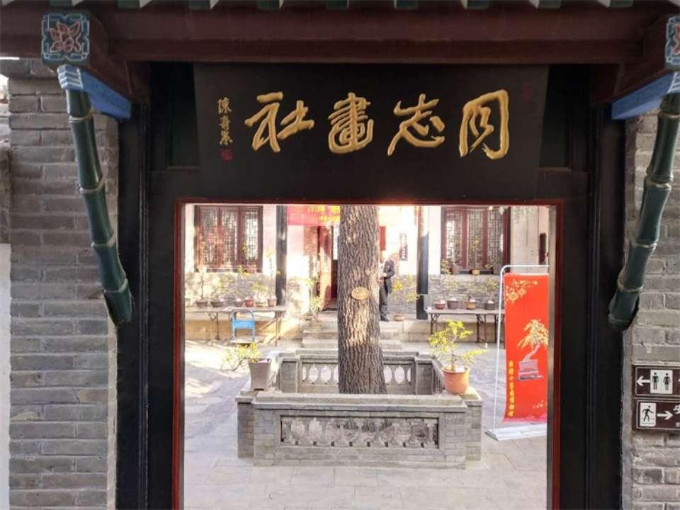 潍坊十笏园博物馆迎春花展带你感受春天的气息年的味道