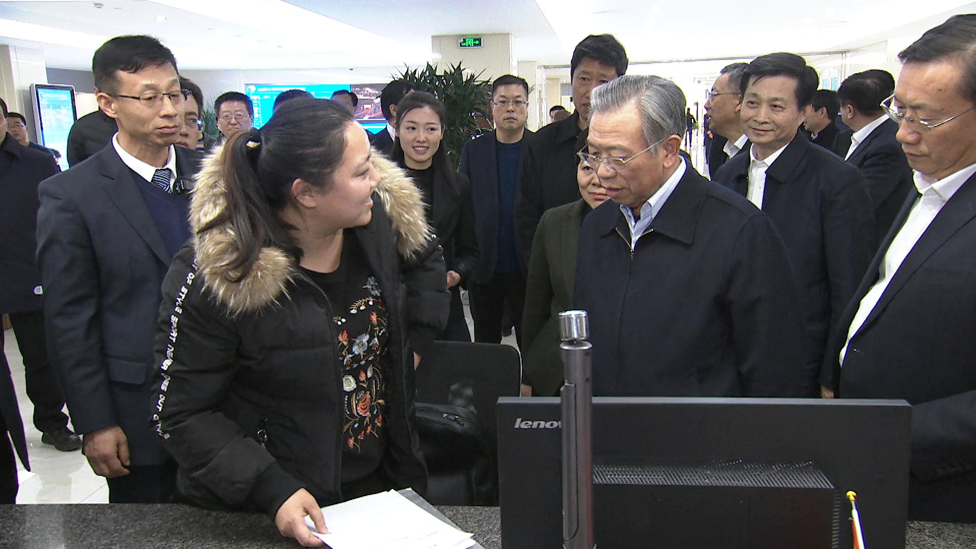 省委书记刘家义在济南调研放管服改革工作