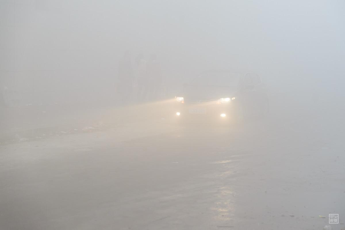 海丽气象吧|枣庄发布大雾黄色预警 今夜到明早大部分地区能见度小于500米