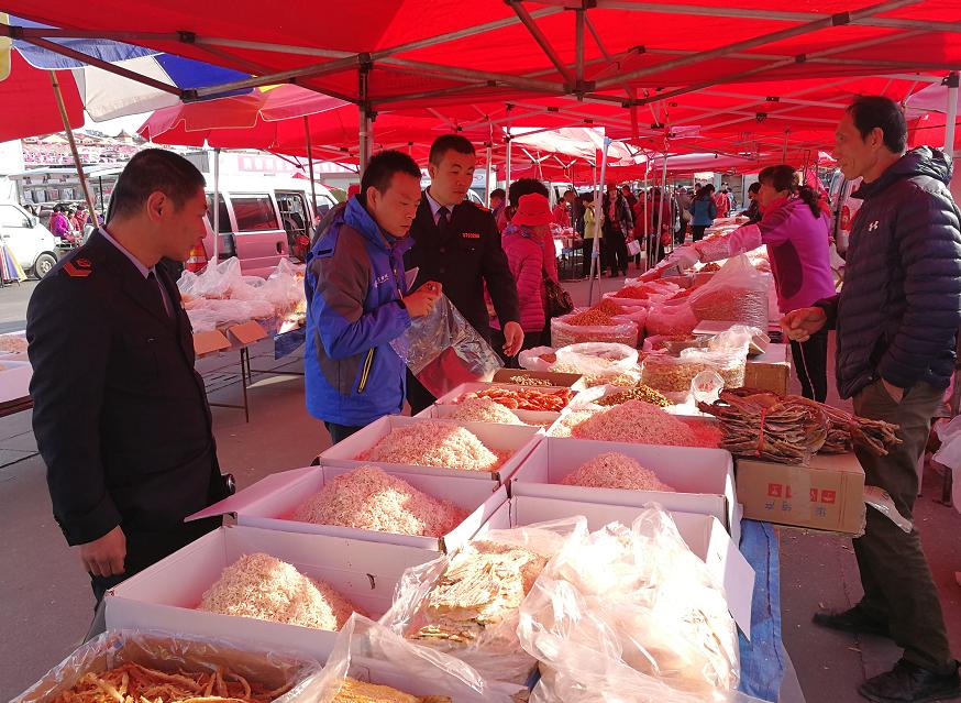 青岛开展集中大检查 护航节日期间食品药品安全