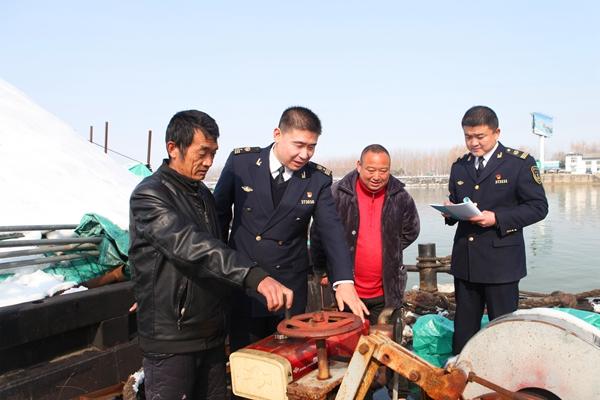 枣庄港航护航春运 核查船舶393艘、排查隐患2项