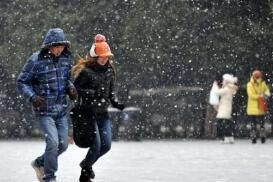 海丽气象吧丨山东明天大部地区有雾 初四济南淄博日照等地迎降雪