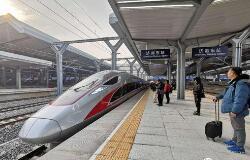 正月初五高铁客流全面上涨 北京方向车票基本售罄