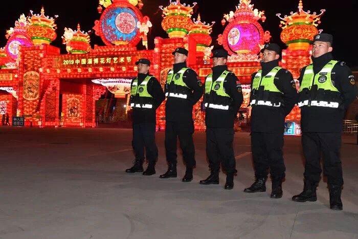 春节期间淄博社会治安持续稳定 每日2600余名警力屯警街面