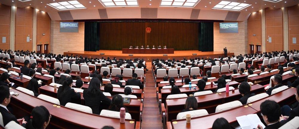 2018年山东法院审结一审民商事案件80.9万件 金融案占1/4