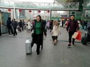 """组图丨怀揣乡情、喜迎开工 记录潍坊春运返程客流高峰中的""""温情"""""""