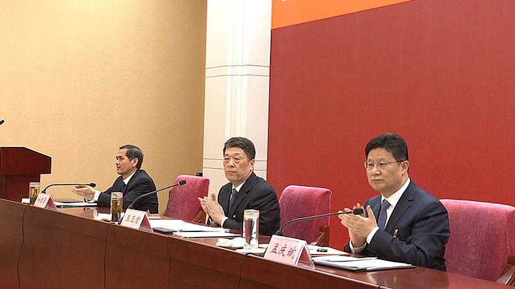 30秒丨省十三届人大二次会议临沂代表团成立