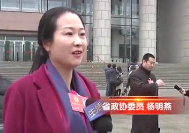 30秒丨省政协委员杨明燕:传统制造到智能制造 企业责任重大
