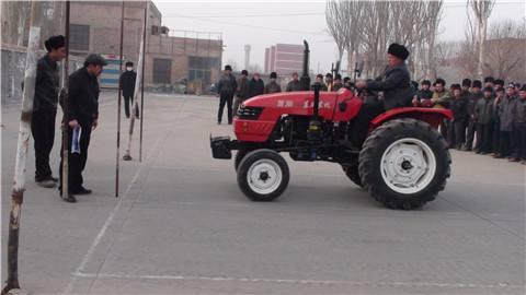 山东5所学校刊出拖沓机驾驶培训行政允许