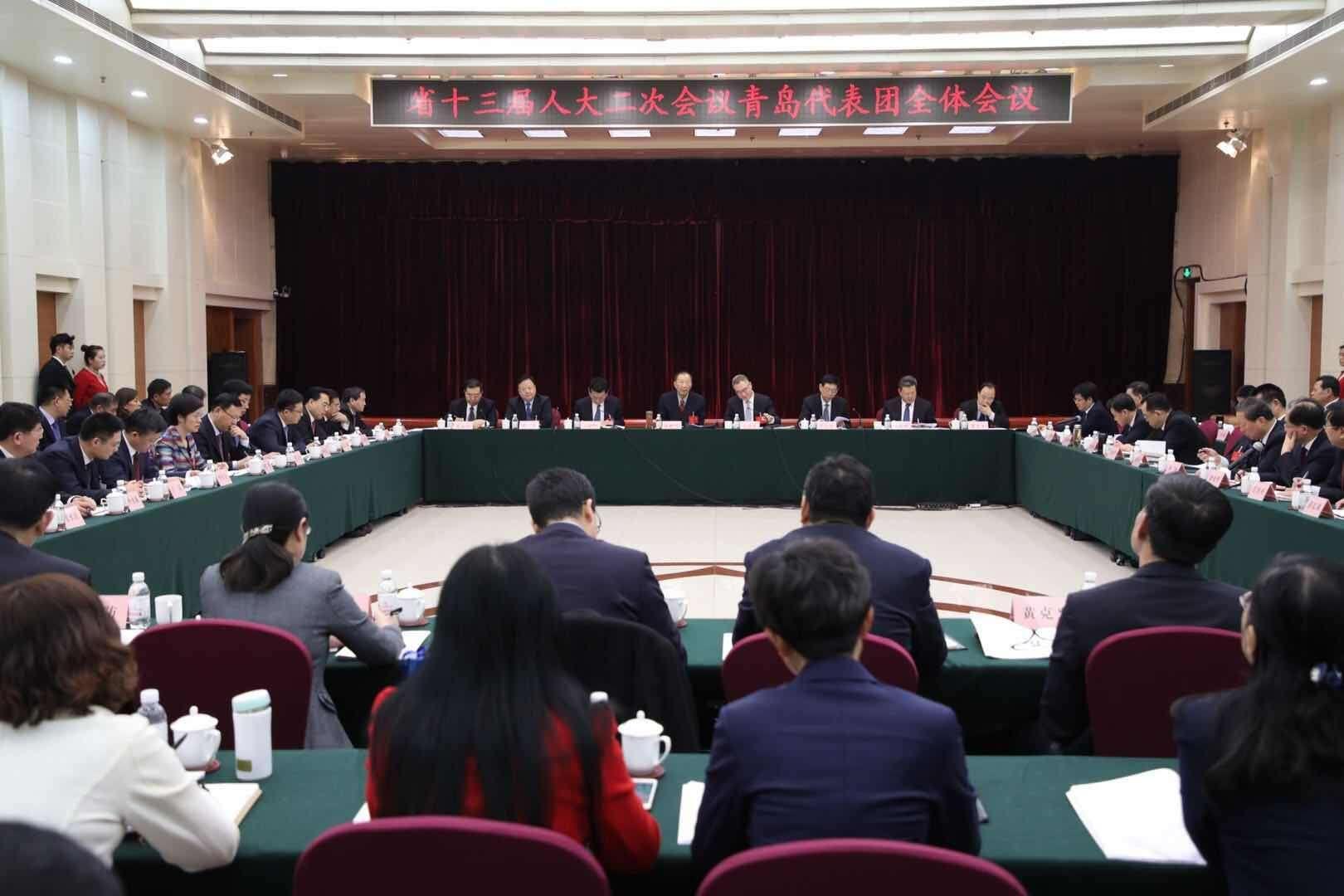 青岛市长孟凡利:更好发挥青岛优势 昂起经济发展龙头
