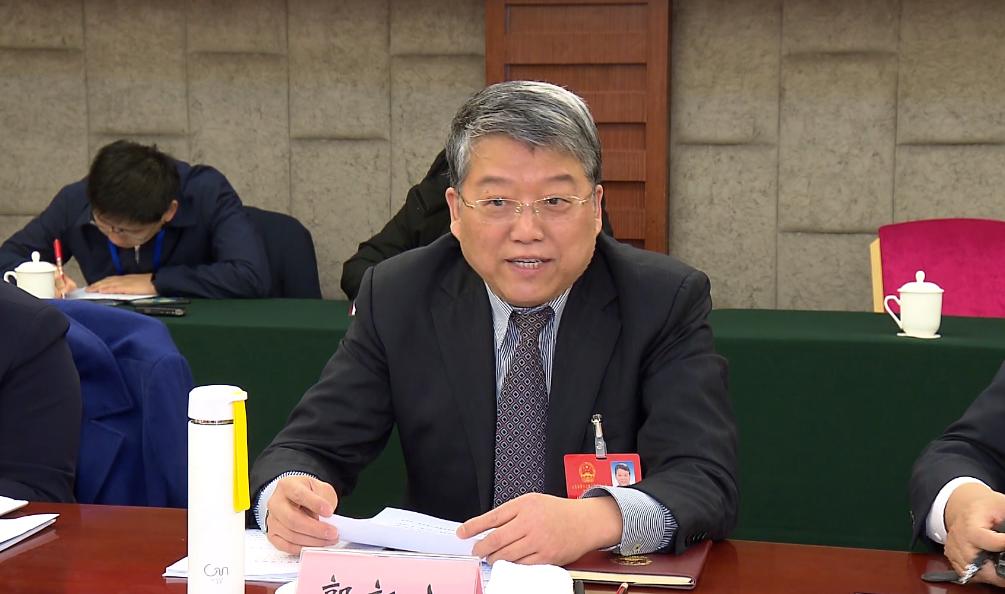 省人大代表郭新立:发挥山大强势学科作用 培育核心竞争力