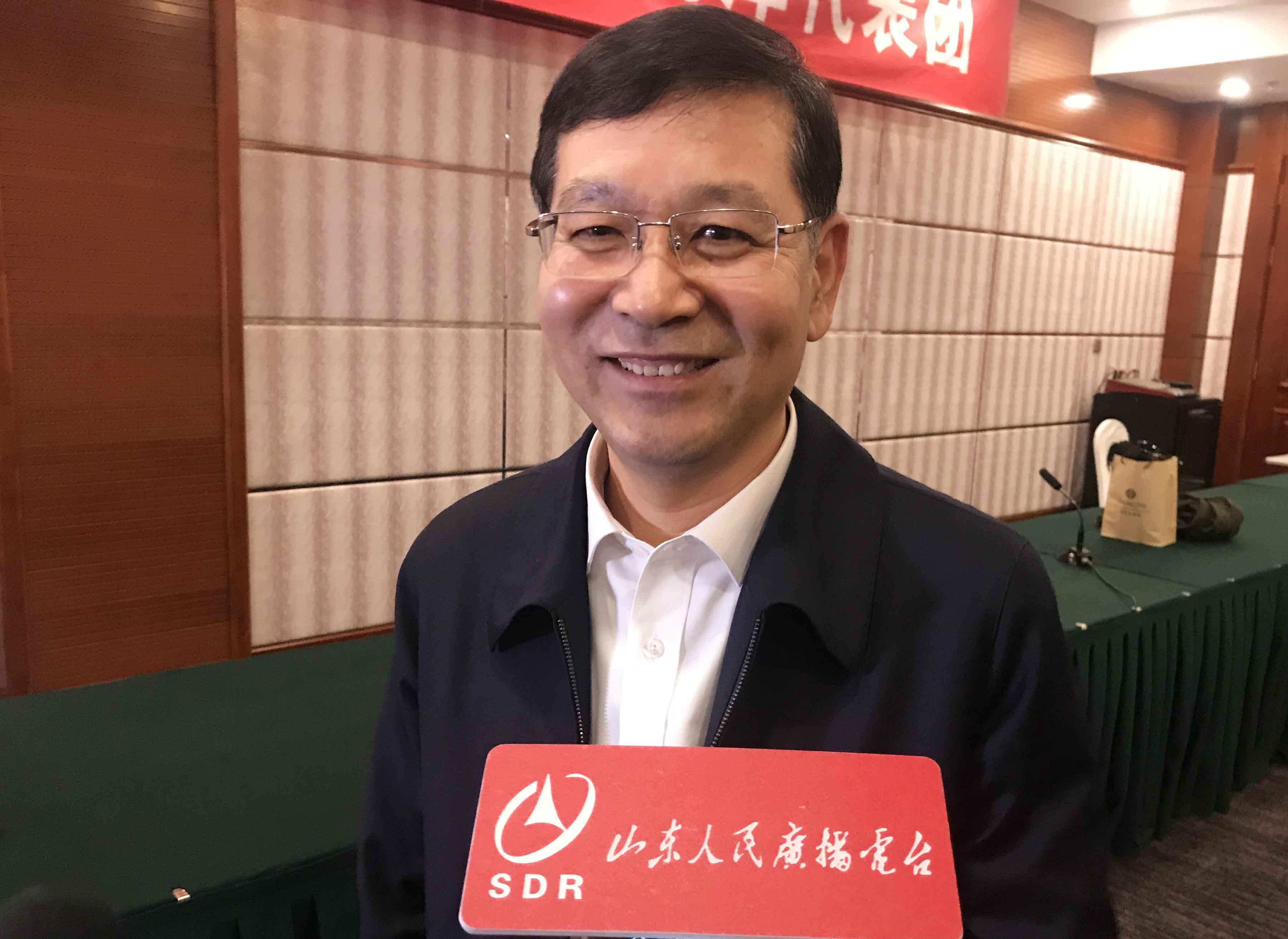 省人大代表、淄博市委书记周连华:坚定不移降煤耗 让淄博天更蓝