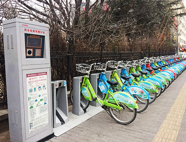 潍坊82个公共自行车站点正式更名 地点信息都在这
