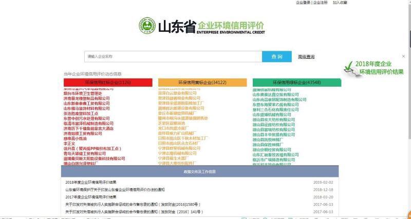 淄博高新区221件环境行政处罚案件获省信用评价