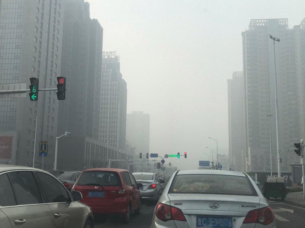 海丽气象吧 受大雾影响 淄博部分高速入口临时关闭