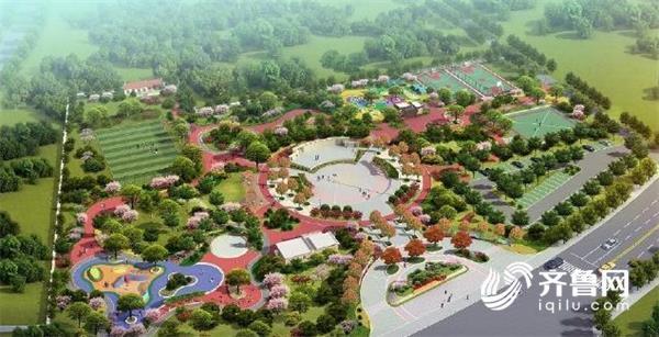 威海笔架山文体公园续建工程开工 预计11月底完工