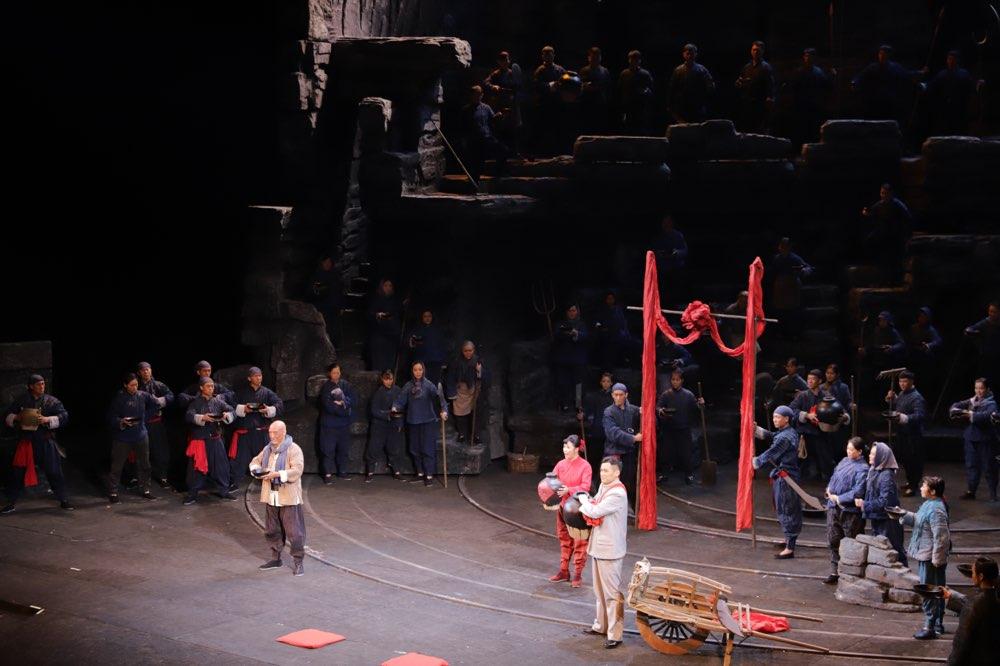 军民水乳交融、生死与共!民族歌剧《沂蒙山》在济南隆重上演